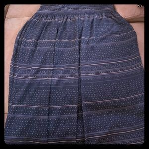 Gap Boho Maxi Skirt Size 18